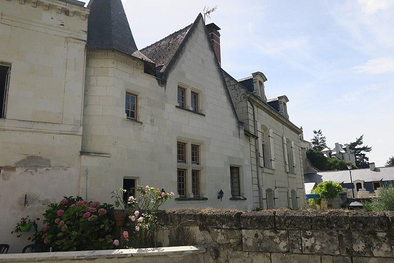 Photo du Monument Historique Maison situé à Montsoreau