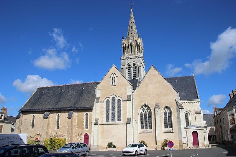 Photo du Monument Historique Eglise situé à Morannes