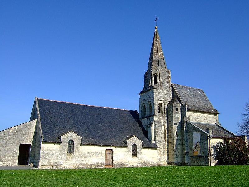 Photo du Monument Historique Eglise situé à Parnay
