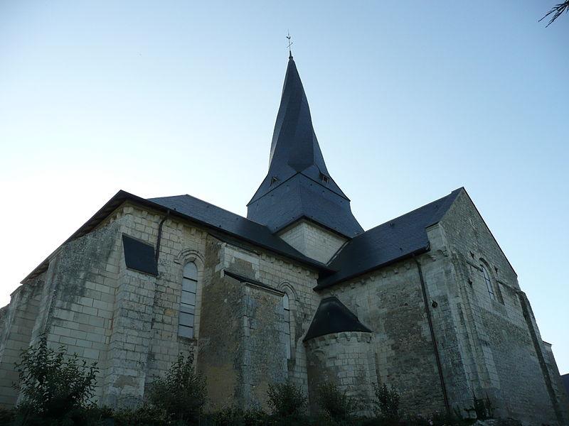 Photo du Monument Historique Eglise Saint-Denis situé à Pontigné