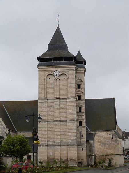 Photo du Monument Historique Eglise situé à Les Rosiers-sur-Loire