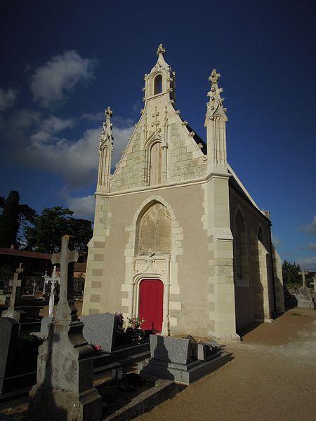 Photo du Monument Historique Chapelle du cimetière situé à Saint-Florent-le-Vieil