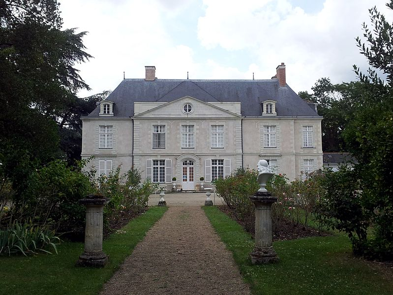 Photo du Monument Historique Domaine de Chateaubriant situé à Sainte-Gemmes-sur-Loire