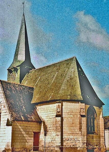 Photo du Monument Historique Eglise situé à Saint-Philbert-du-Peuple