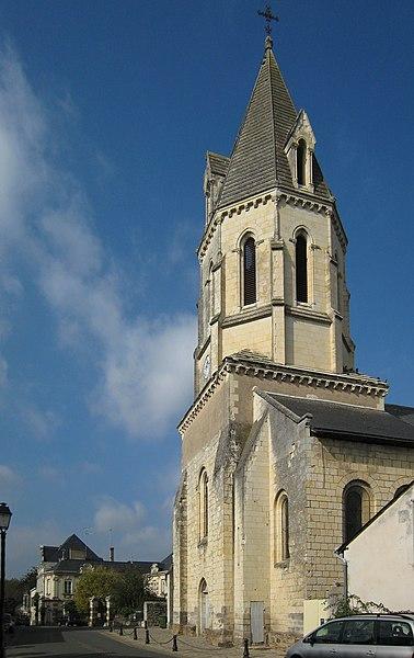 Photo du Monument Historique Eglise (à l'exception des parties modernes) situé à Saint-Rémy-la-Varenne