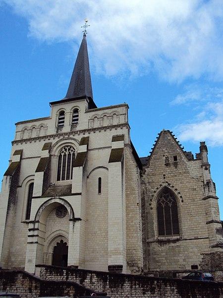 Photo du Monument Historique Eglise Notre-Dame-de-Nantilly situé à Saumur