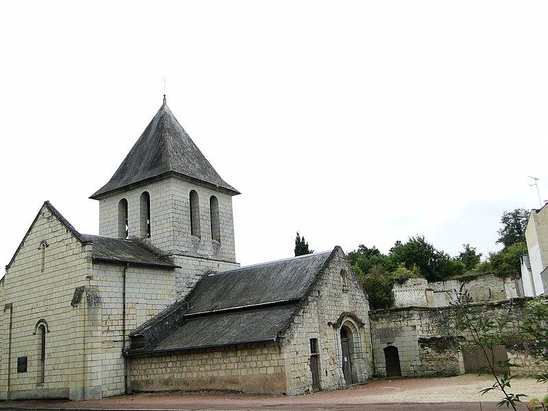 Photo du Monument Historique Eglise de Saint-Hilaire situé à Saumur