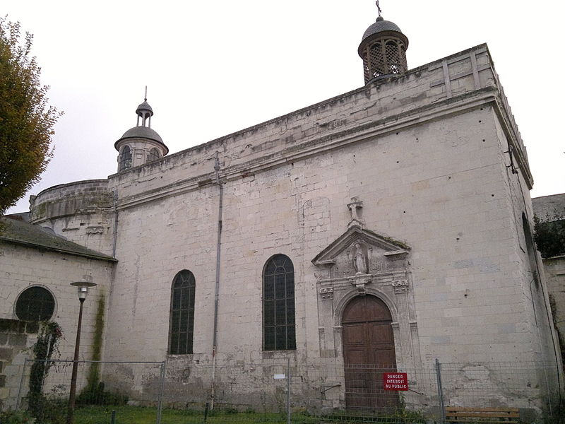 Photo du Monument Historique Eglise de la Visitation situé à Saumur