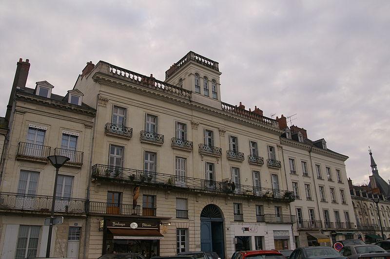 Photo du Monument Historique Hôtel du Belvédère situé à Saumur