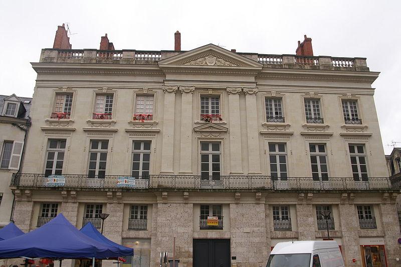 Photo du Monument Historique Hôtel Blancher situé à Saumur