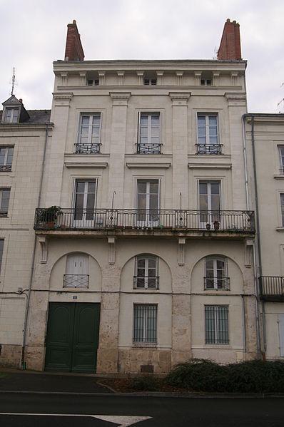 Photo du Monument Historique Hotel du Commandement situé à Saumur