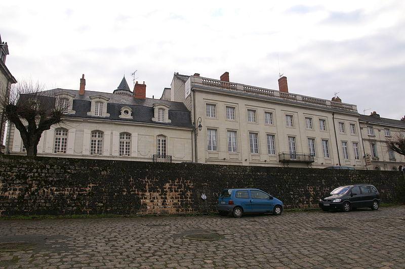 Photo du Monument Historique Hôtel Jamet situé à Saumur