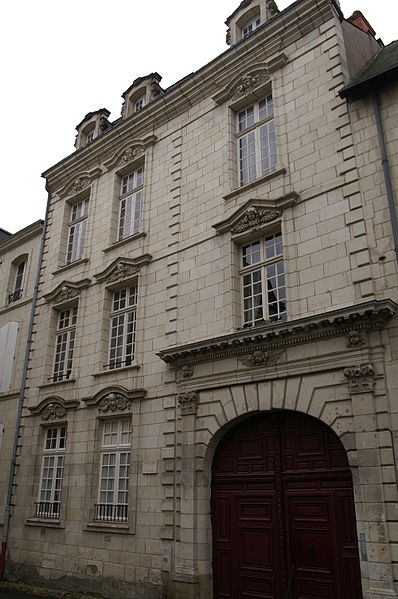 Photo du Monument Historique Maison dite des Anges situé à Saumur