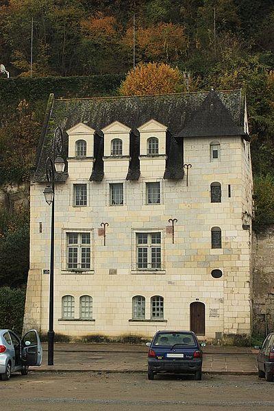 Photo du Monument Historique Maisons de la Fontaine situé à Saumur
