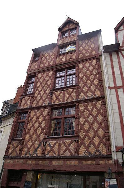 Photo du Monument Historique Maison situé à Saumur