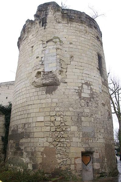 Photo du Monument Historique Tour du Bourg situé à Saumur