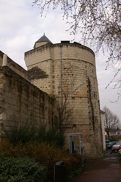Photo du Monument Historique Tour Papegault situé à Saumur