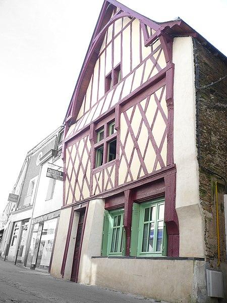 Photo du Monument Historique Maison situé à Segré