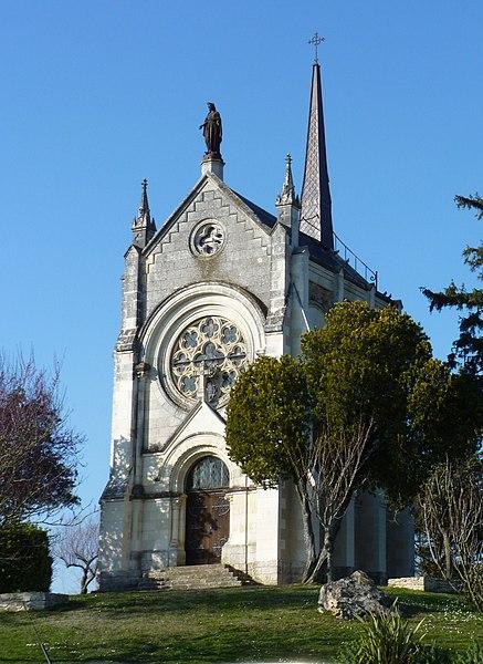 Photo du Monument Historique Chapelle Notre-Dame de la Garde situé à Seiches-sur-le-Loir