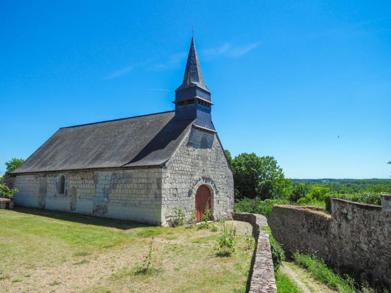 Photo du Monument Historique Chapelle de la Roche-Foulques situé à Soucelles