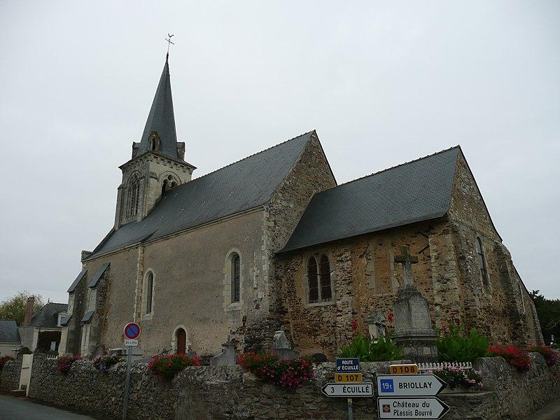 Photo du Monument Historique Eglise de Bourg situé à Soulaire-et-Bourg