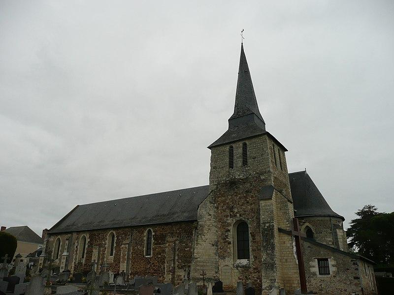 Photo du Monument Historique Eglise de Soulaire situé à Soulaire-et-Bourg