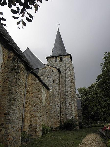 Photo du Monument Historique Eglise situé à Thorigné-d'Anjou