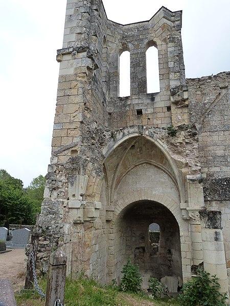 Photo du Monument Historique Eglise Saint-Maxenceul à Cunault situé à Chênehutte-Trèves-Cunault