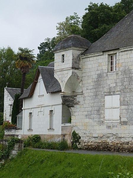 Photo du Monument Historique Manoir de la Cour Condé situé à Chênehutte-Trèves-Cunault
