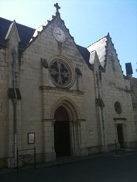 Photo du Monument Historique Eglise situé à Varennes-sur-Loire