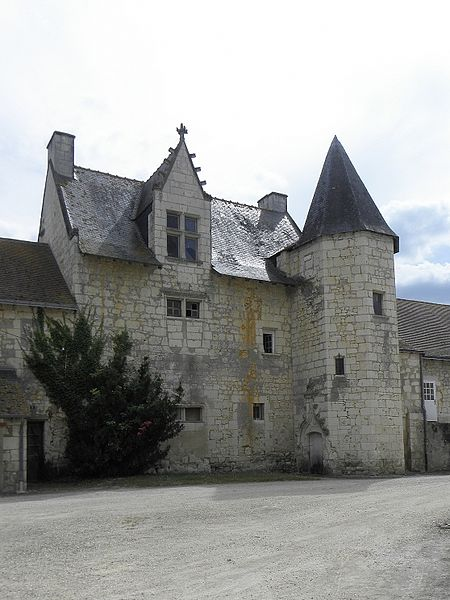 Photo du Monument Historique Prieuré-cure situé à Vernoil