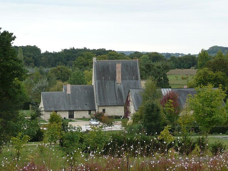 Photo du Monument Historique Logis de Clairefontaine situé à Le Vieil-Baugé