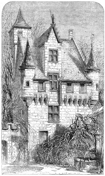 Photo du Monument Historique Propriété dénommée la Vignolle situé à Souzay-Champigny
