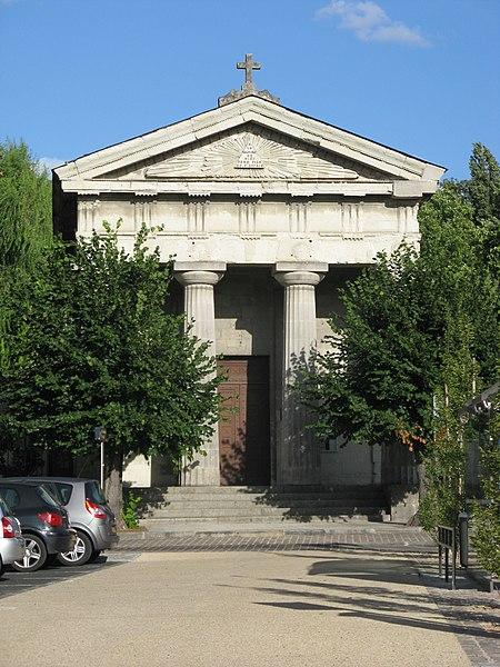 Photo du Monument Historique Temple de l'Eglise Réformée situé à Saumur
