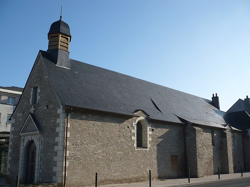 Photo du Monument Historique Chapelle Saint-Lazare situé à Angers