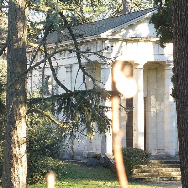 Photo du Monument Historique Chapelle funéraire de la famille Thouin situé à Angers