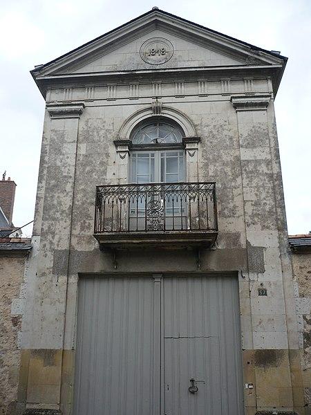 Photo du Monument Historique Hôtel particulier (hôtel Mabille-Duchêne) situé à Baugé