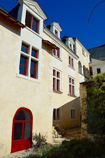 Photo du Monument Historique Hôtel Maillard situé à Baugé