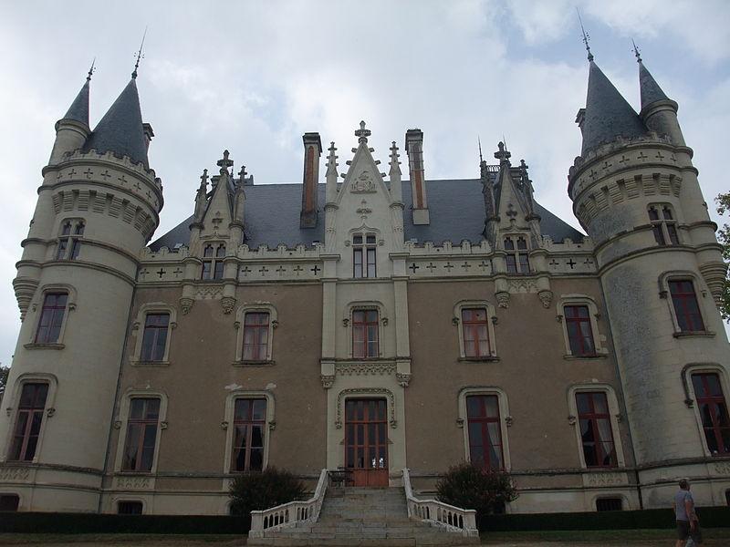 Photo du Monument Historique Château de la Baronnière situé à La Chapelle-Saint-Florent