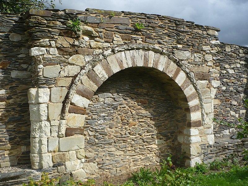 Photo du Monument Historique Ancien couvent bénédictin Notre-Dame situé à Nyoiseau
