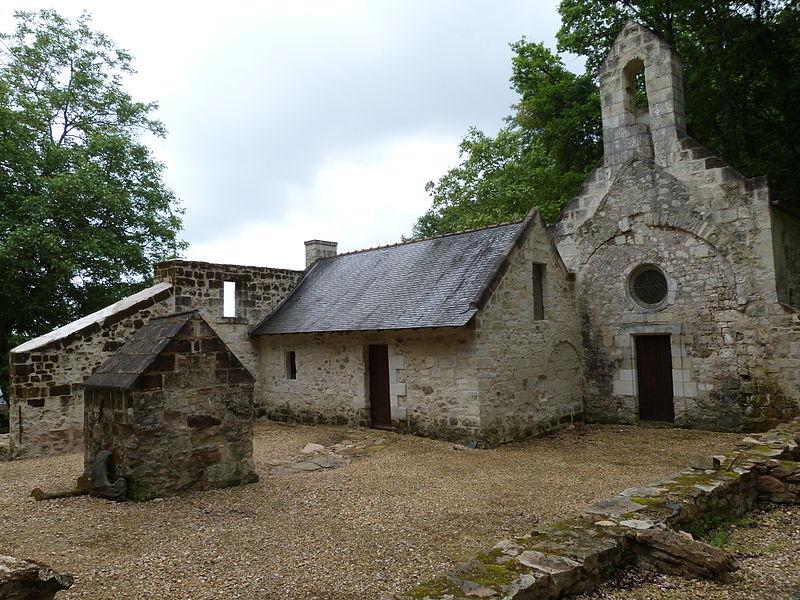 Photo du Monument Historique Ancien hermitage Saint-Jean situé à Chênehutte-Trèves-Cunault