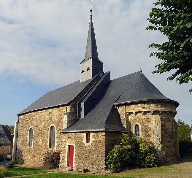 Photo du Monument Historique Eglise paroissiale situé à Chenillé-Changé