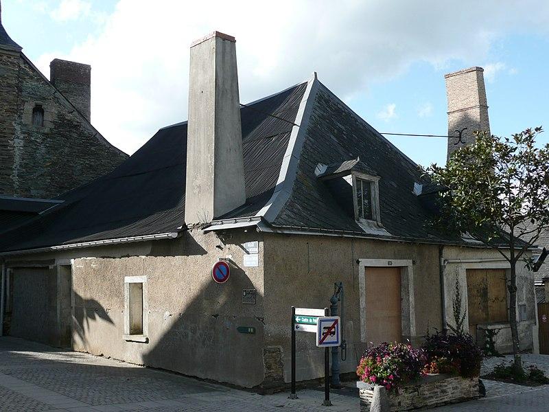 Photo du Monument Historique Ancien grenier à sel situé à Pouancé