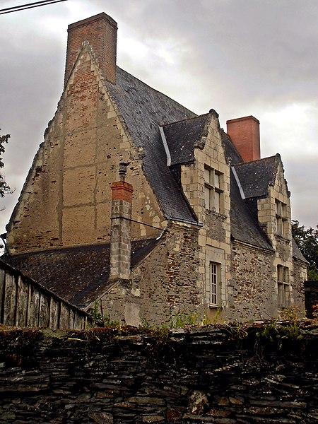 Photo du Monument Historique Logis de la Gachetière situé à Saint-Jean-des-Mauvrets
