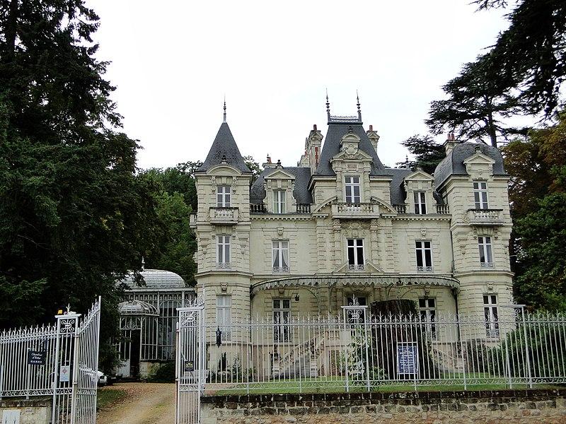 Photo du Monument Historique Château Bouvet-Ladubay situé à Saumur