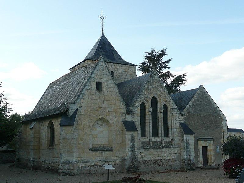 Photo du Monument Historique Eglise Saint-Pierre de Charcé situé à Charcé-Saint-Ellier-sur-Aubance