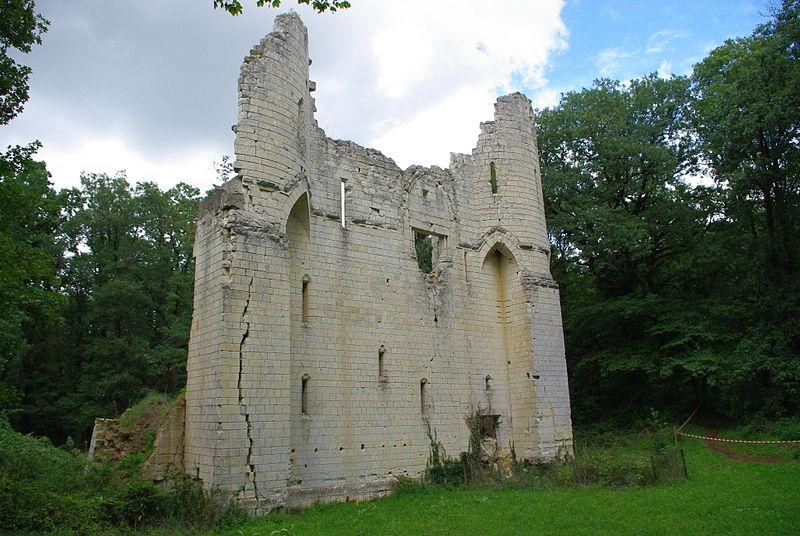 Photo du Monument Historique Manoir de la Bouchardière situé à Saint-Cyr-en-Bourg