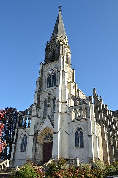Photo du Monument Historique Eglise Notre-Dame situé à Beaupréau