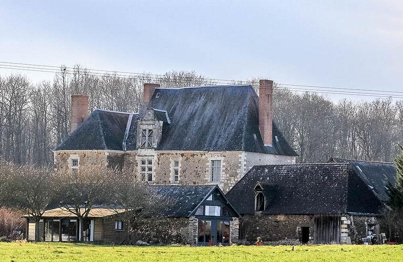 Photo du Monument Historique Manoir de la Maldemeure situé à Champigné