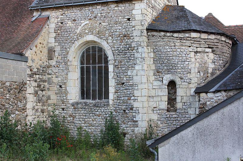 Photo du Monument Historique Eglise Saint-Aubin situé à La Pellerine